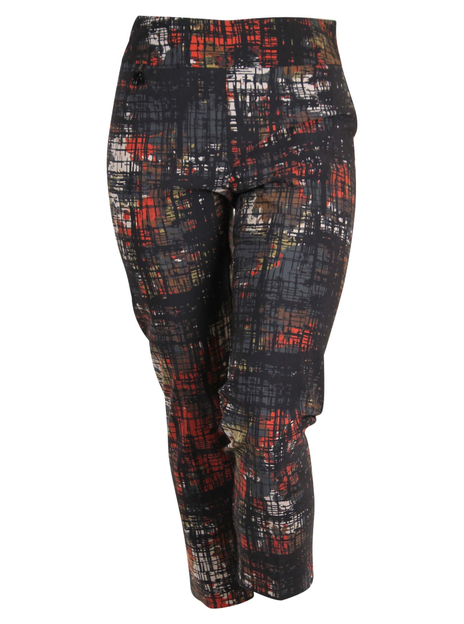 Joseph Ribkoff Abstract Print Straight Leg Pants- Style 173664 (22)