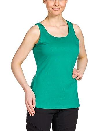 Jack Wolfskin Damen Shirt Lismore OC Top W, Deep Mint, XS, 1803741-