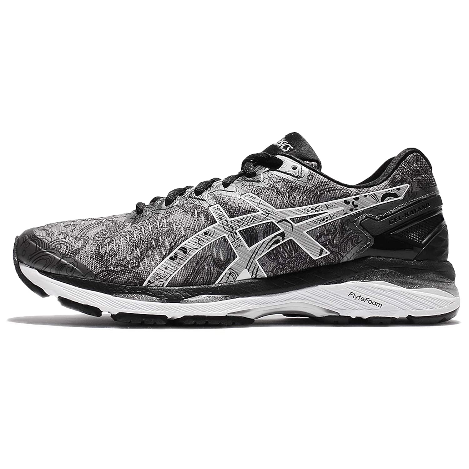 c9dff13618979 ASICS Women's Gel-Kayano 23 Lite-Show Carbon, Silver and Reflective Running  Shoes - 6.5 UK/India (40 EU)(8.5 US): Amazon.in: Shoes & Handbags