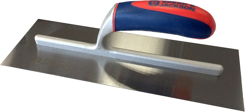 Lanza y Jackson 10613csf//14 33,02 cm paleta para enlucido acero al carbono