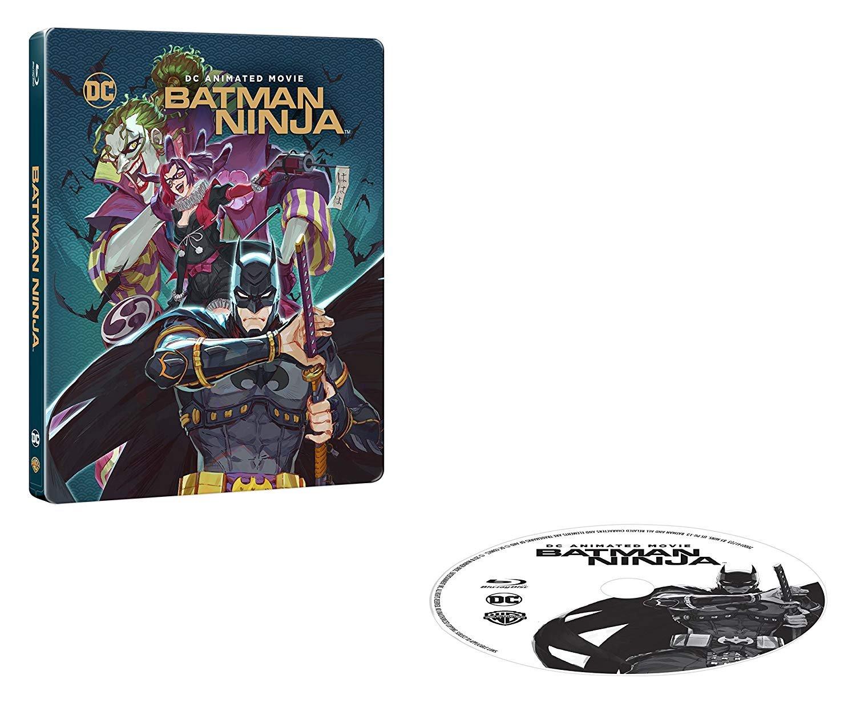 Amazon.com: Batman Ninja [Steelbook] [Blu-ray]: Movies & TV