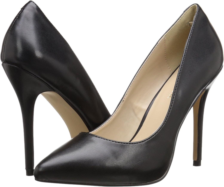Escarpins femme Blk Faux Leather 13 US 43 EU Pleaser Amuse 20 Black