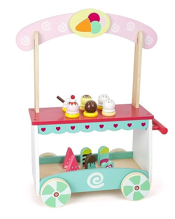 'Spielzeug Eiswagen - small foot Eiswagen Holz Kinder