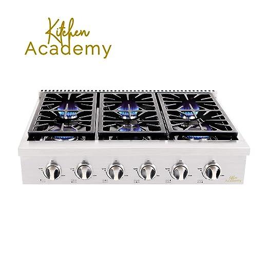 Amazon.com: Kitchen Academy - Cobertizo de cocina de acero ...