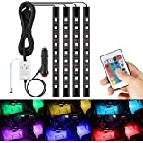 AMBOTHER HitsFR544 LED RGB Ruban Bande Néons Multicolor Auto Allume-Cigare12V