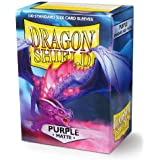 Dragon Shield Matte Purple Standard Size 100 ct Card Sleeves Individual Pack