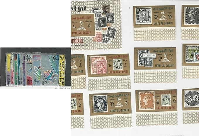 Umm Al Qiwan Postage Stamp Unlisted Space Stamp