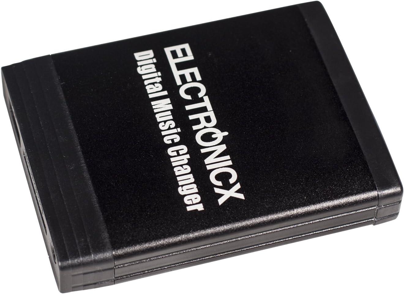 Electronicx Elec-M06-SMT Adaptateur Changeur num/érique de Musique Voiture USB MP3 AUX SD CD pour Smart Lancia Fiat 8 Pin
