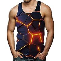 Rave on Friday Camisetas sin Mangas Hombre 3D Impreso Camisetas de Tirantes Cool Tank Top S-XXL
