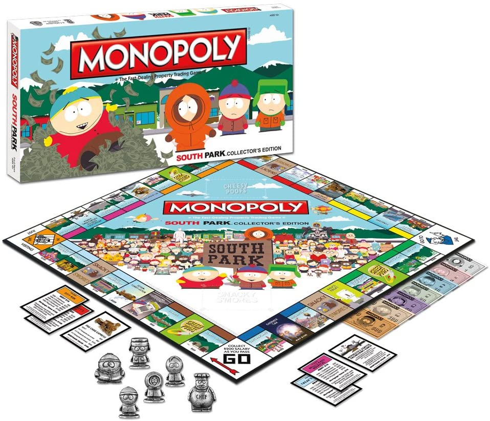 Amazon.com: Monopoly: South Park Collector s Edition: Toys ...