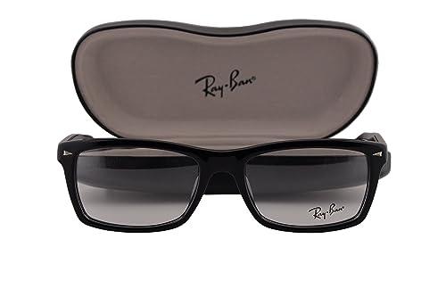 bf712bb7eb Ray Ban RX5287 Eyeglasses 52-18-140 Black 2000 RX 5287  Amazon.ca  Shoes    Handbags