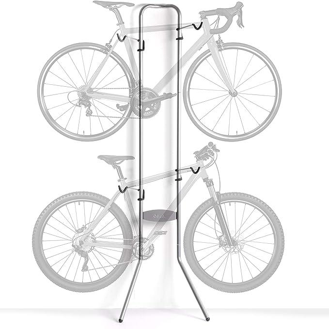 Delta Shop Rack Adjustable Floor Stand Holds One Bike