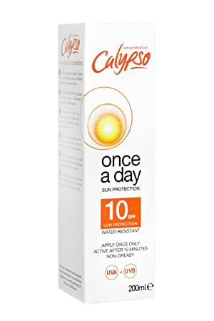 a3c81eff43a Calypso Once a Day Sun Protection Lotion with SPF 10  Amazon.co.uk ...
