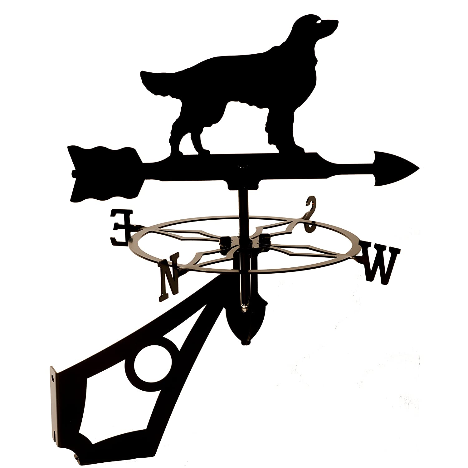 Dragon Laser Ltd. W149BLK Golden Retriever, Dog Weathervane