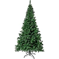 5FT 150CM Artificial Christmas Tree Sturdy Metal Stand with Plentiful Branch Tips