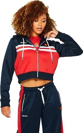 a5633b9cfa901 ellesse Bulito W Sweat zippé à Capuche Navy  Amazon.fr  Vêtements et  accessoires