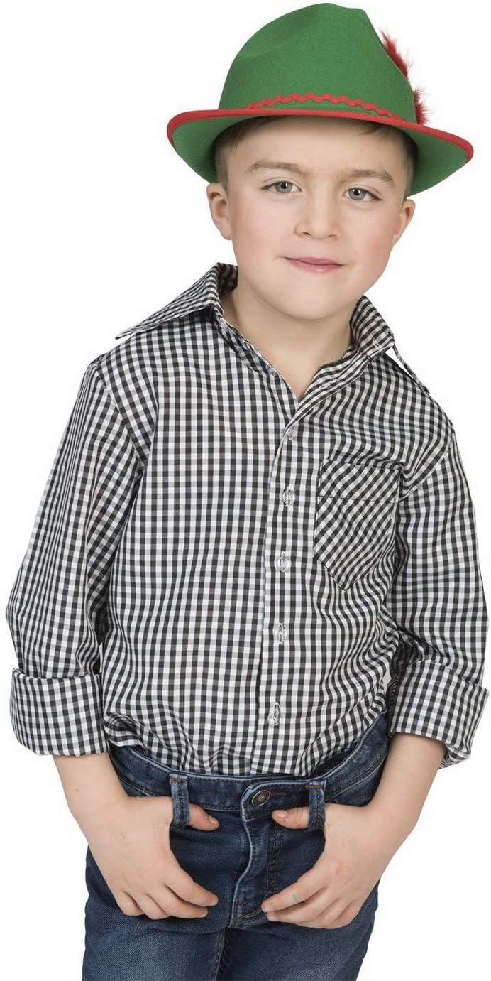 Luxuspiraten – Disfraz Infantil para niño, Color Negro y Blanco ...