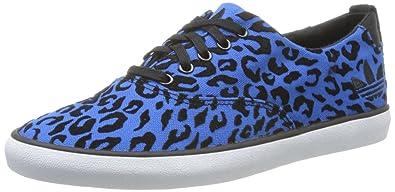 sale retailer bfc89 6ad47 adidas Womens Originals Azurine Low W Trainers Blue Size 6.5