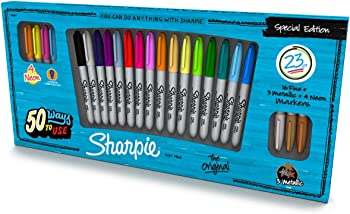 Sharpie Special Edition 23-Piece Permanent Marker Pack