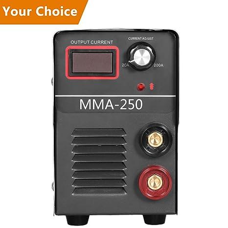 voluker IGBT MMA 250 A S mano electrodo Soldador inverter sudor dispositivo, 250 amperios, 1