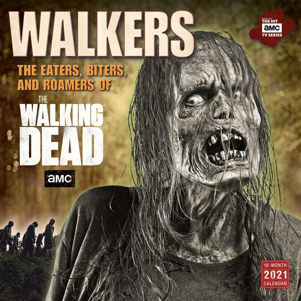 Sellers Publishing, 2021 Walking Dead Walkers Wall Calendar