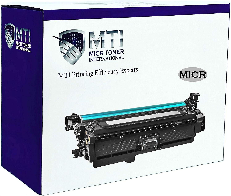 MICR Toner International Compatible Magnetic Ink Cartridge Replacement for HP 507A CE400A Laserjet Enterprise 500 M551 M570 M575 (Black)