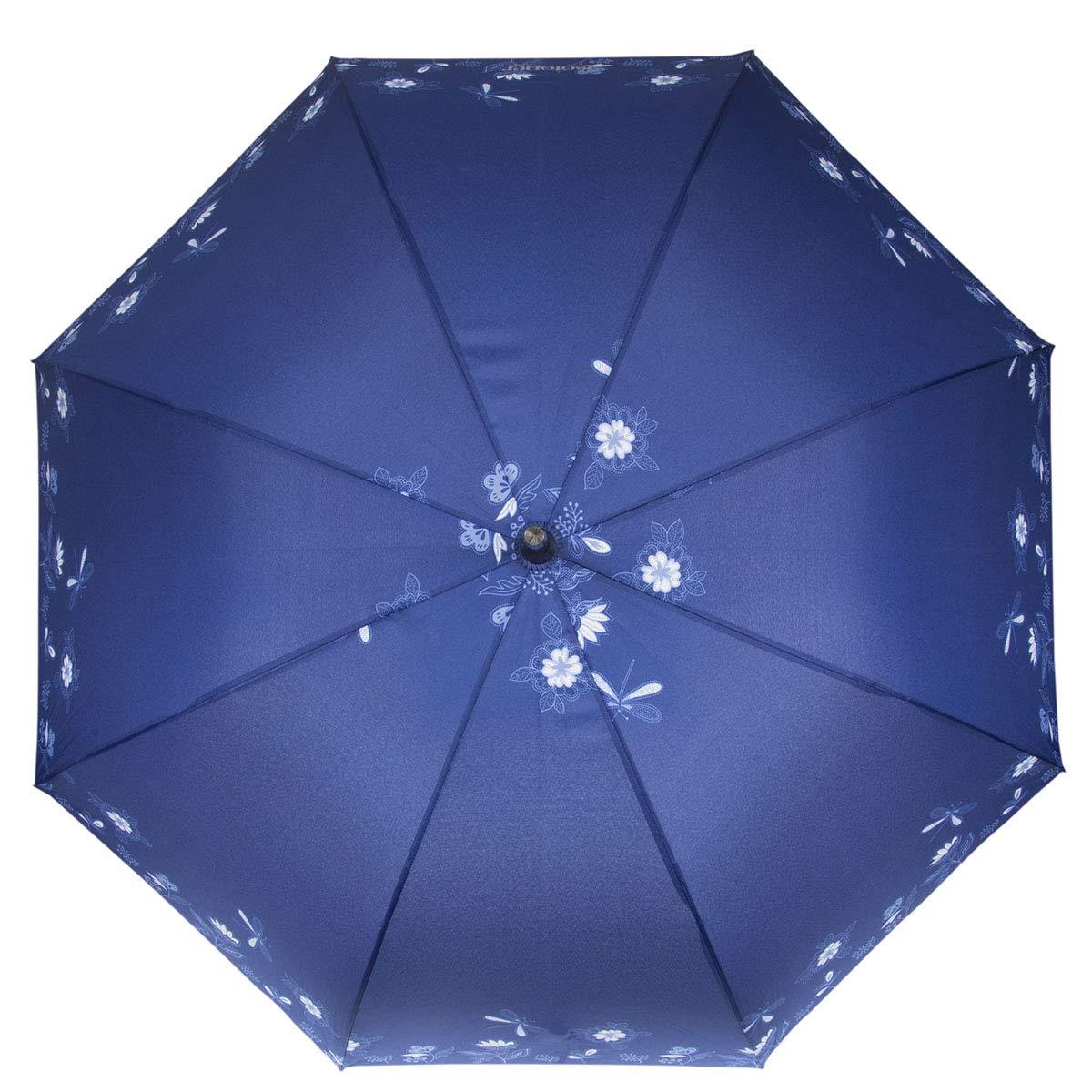 Taille Unique Parrapluie X-tra Solide 09406 Libellule Bleu