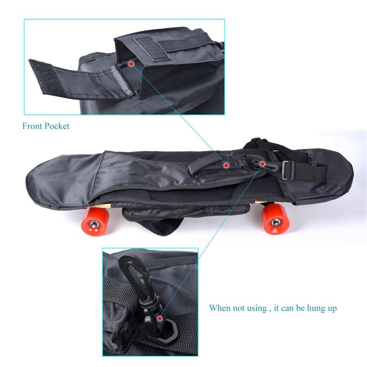 NoRules Skateboard Bag Skateboarding Adjustable Shoulder Bag