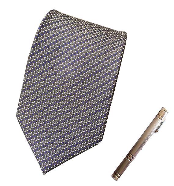 Amazon.com: Para hombre Negro Clásico Solemne traje corbata ...