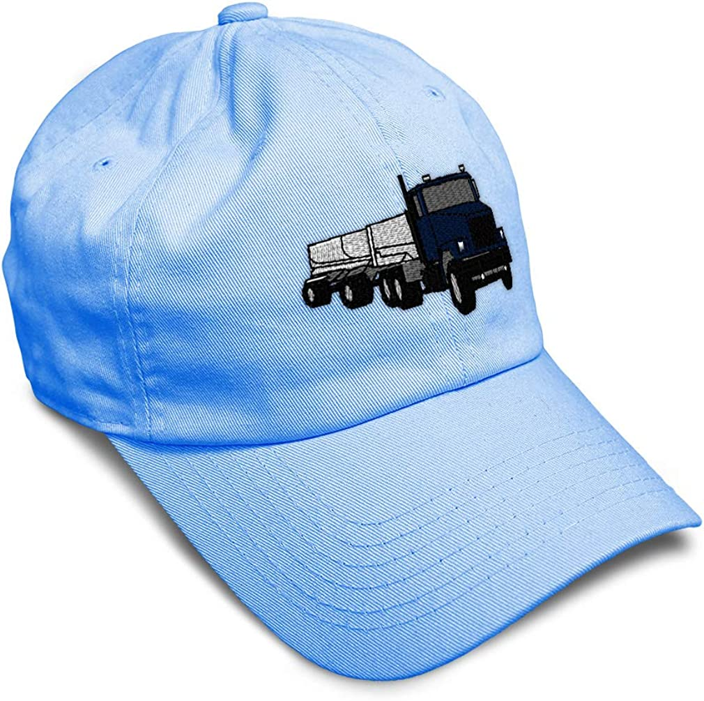 Custom Soft Baseball Cap Gravel Truck Embroidery Dad Hats for Men /& Women