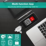 geekgo Micro SD Card Reader for iPhone iPad/Android