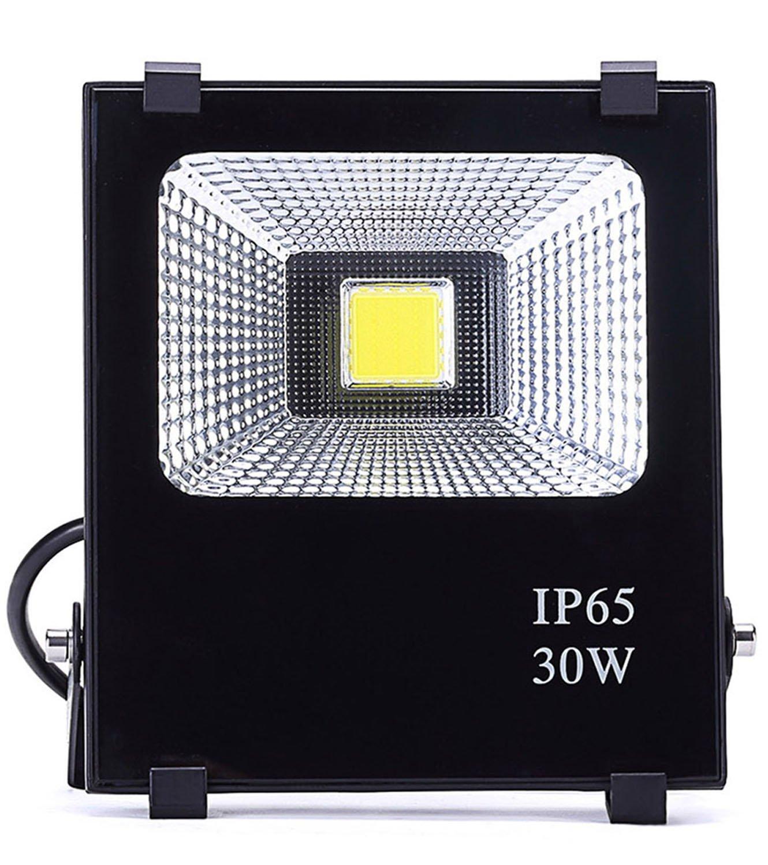 Hagolight 30W LED Flood Lights Outdoor Security Lights, 150W Halogen Bulb Equivalent, Outdoor Floodlight Waterproof IP65 2100lm, Super Bright 6000K, Daylight White