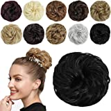 SHEDOWIG Messy Bun Hair Piece Scrunchies Hair Bun Extensions for Women Synthetic Updo Chignon Hairpiece