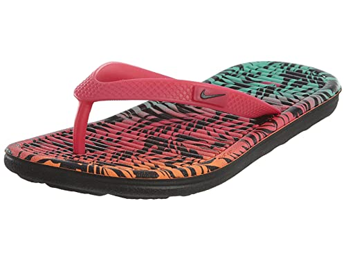 0eec0bf4cd45a5 Nike Solarsoft Thong 2 Print Big Kids Style  631725-602 Size  7