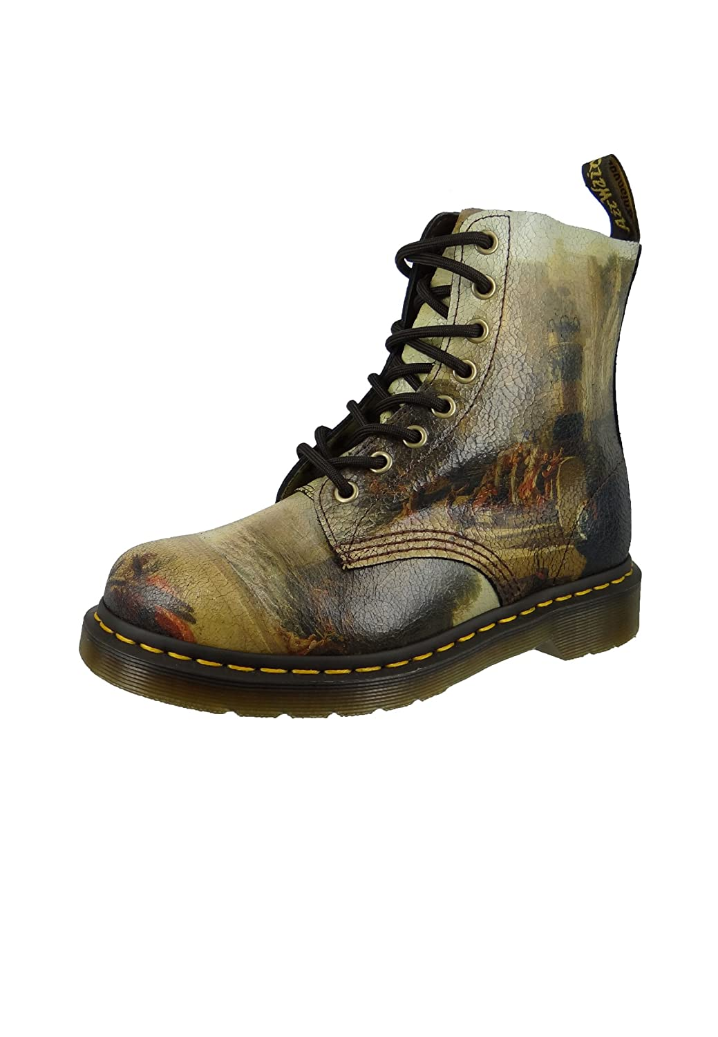 Dr. Martens Unisex-Adult Pascal 8 Eye Boot B079JXHHR4 8.5 M US Women / 7.5 M US Men|Multi