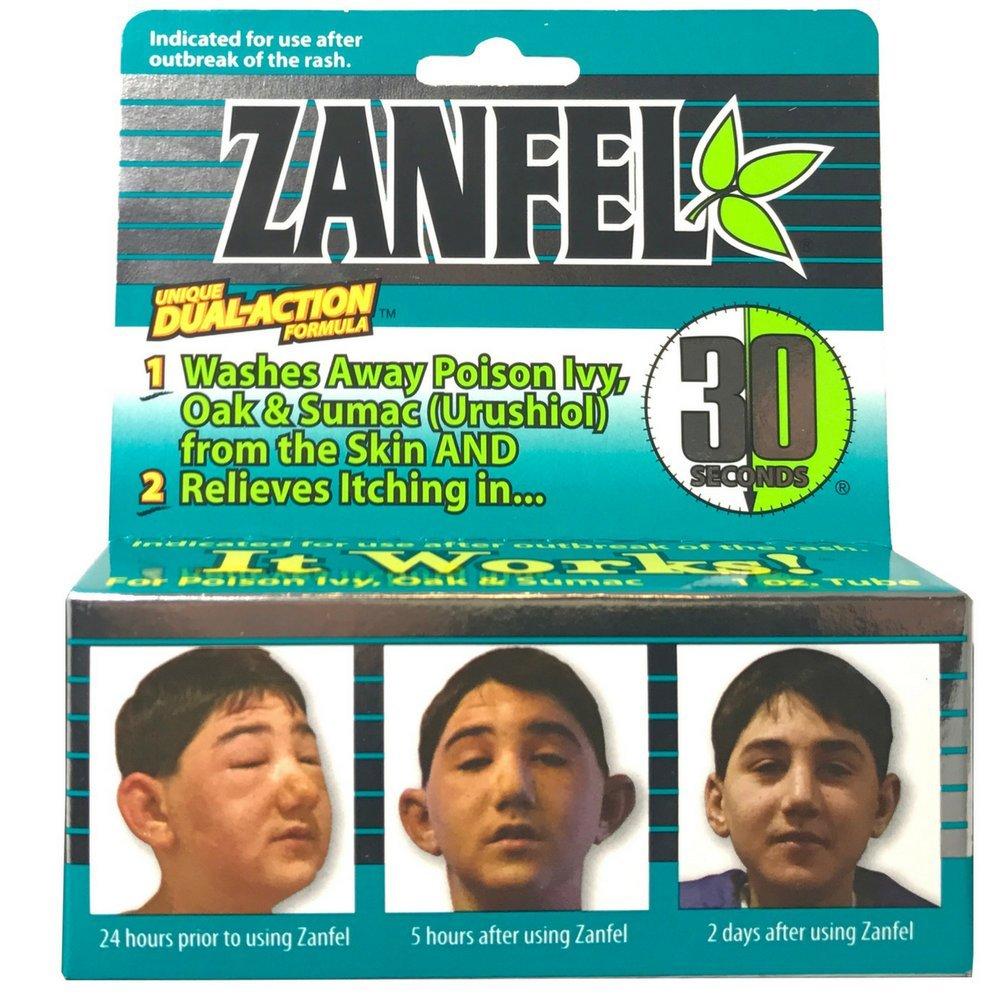 Zanfel Wash For Poison Ivy, Oak & Sumac (Urushiol) 1 oz (Pack of 11)