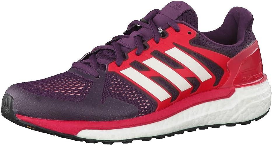 adidas Supernova St W, Zapatillas de Running para Mujer, Rojo ...