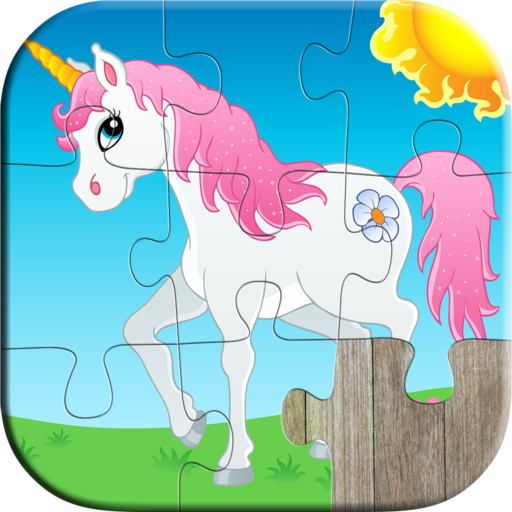 Animals Jigsaw Puzzle Games for Kids - Fun and Educational Jigsaw Puzzle Game for Kindergarten and Preschool Toddlers, Boys and Girls Ages 1, 2, 3, 4, 5 Years Old - -