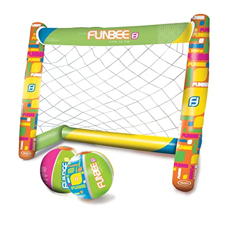 Funbee - Portería de fútbol Hinchable - ofun312: Amazon.es ...
