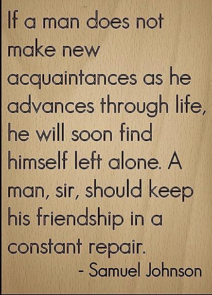 Mundus Souvenirs - If a man does not make new acquaintances