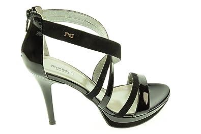 NERO GIARDINI donna sandali con il tacco P512952DE/100 38 NERO Original 100% Garantizada La Venta En Línea Nuevo Y De Moda Estilo De La Moda Para La Venta wLRCcLMt3