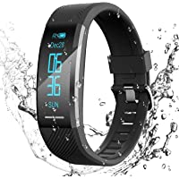 AGPTEK Fitness Tracker Watch for Men Women Smart Bracelet with Heart Rate Monitor/Sleep Monitor IP67 Waterproof…