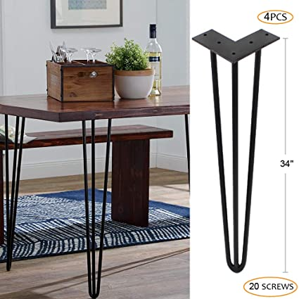 Amazon.com: ZEKOO - Patas de mesa, Negro: Home Improvement
