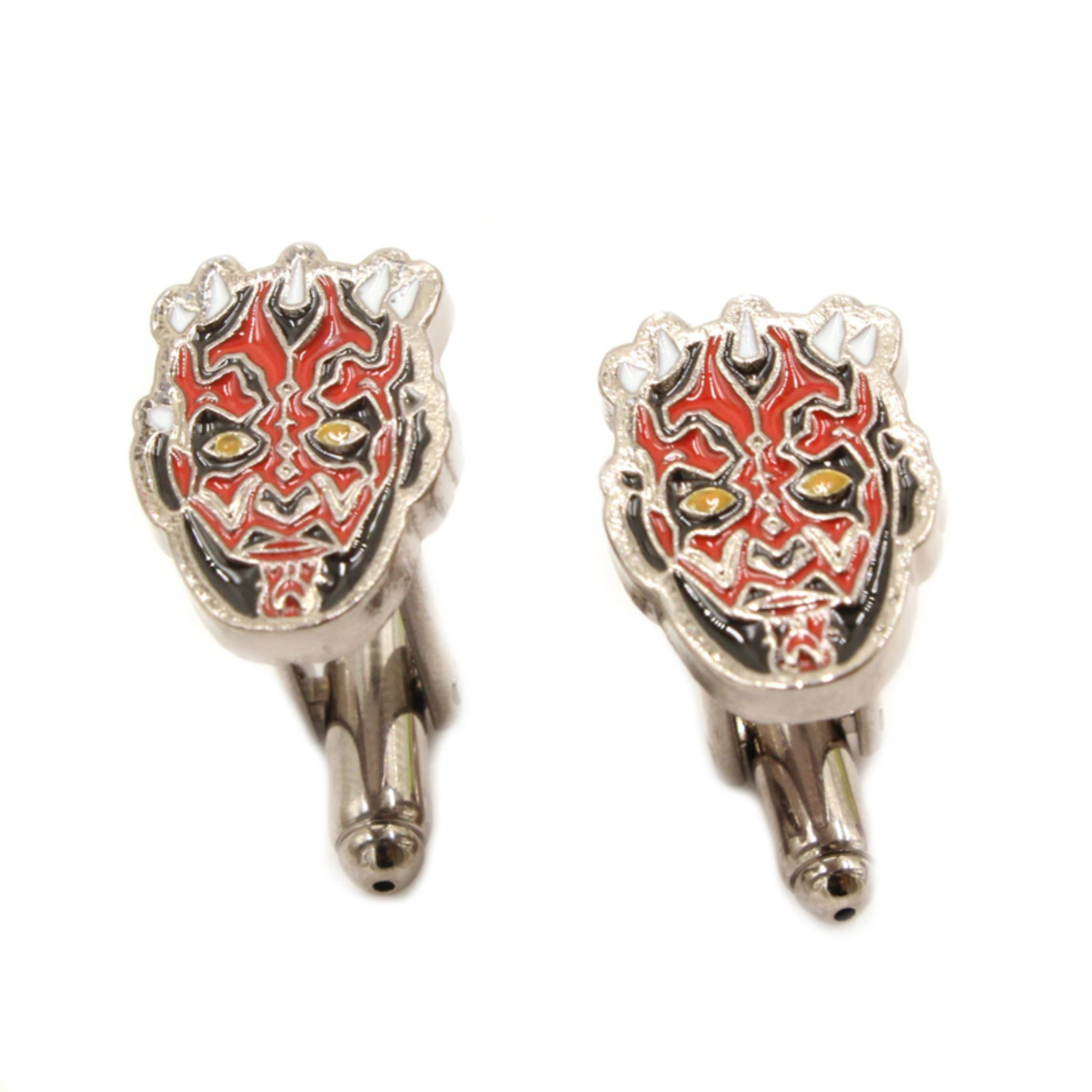 Superheroes Star Wars Darth Maul Sith Imperial Cufflinks