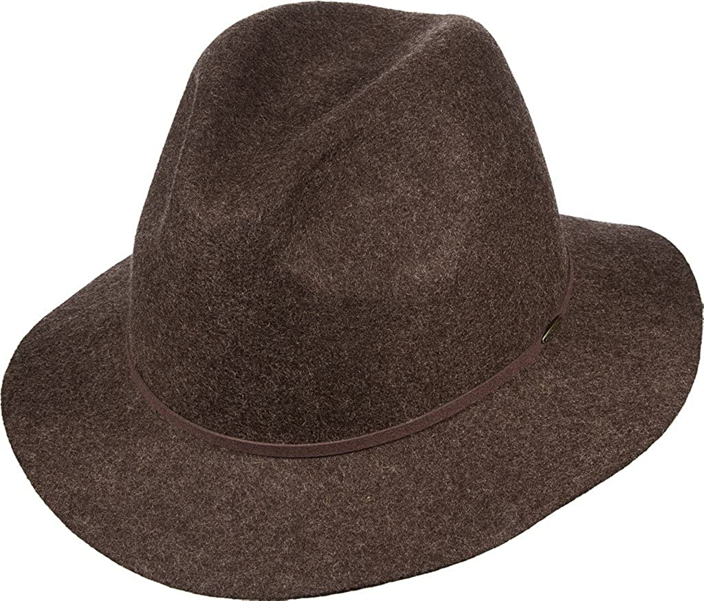 c3abf24be00 Scala Classico Men s Packable Raw Edge Safari Hat