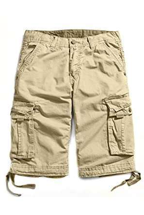 ad4e04c583 Cyparissus Mens Cargo Shorts Multi Pockets Short for Men | Amazon.com