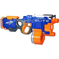 NERF Elite - HyperFire Motorized Blaster inc 25 official Darts - Kids Toys & Outdoor games - Ages 8+