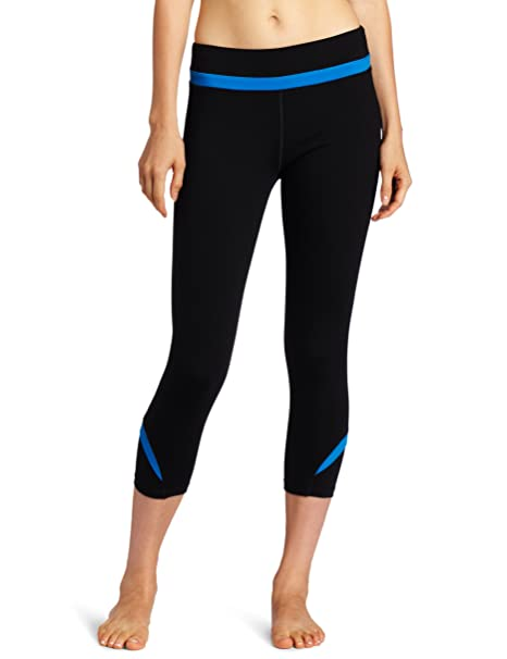 Alo Yoga Womens Fusion Leg Capri at Amazon Womens Clothing ...