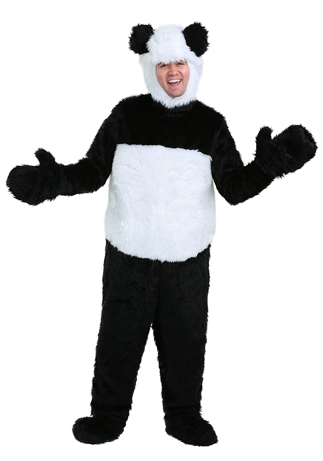 Deluxe Panda Adult Fancy dress costume X-Large