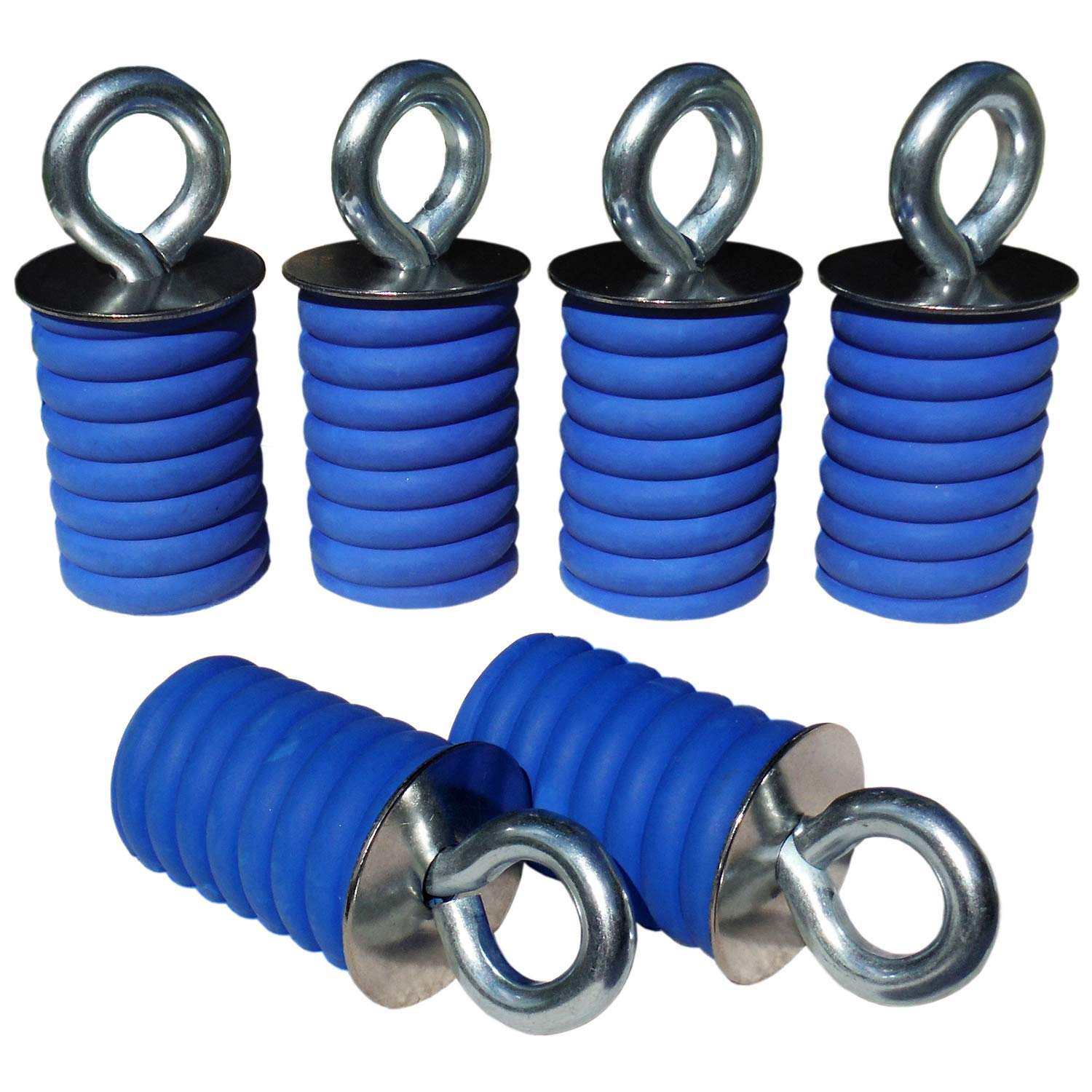 Polaris Ranger Lock & Ride ATV Tie Down Anchors - Set of 6 (SIX) Lock and Ride type Anchors by GripPRO ATV Anchors